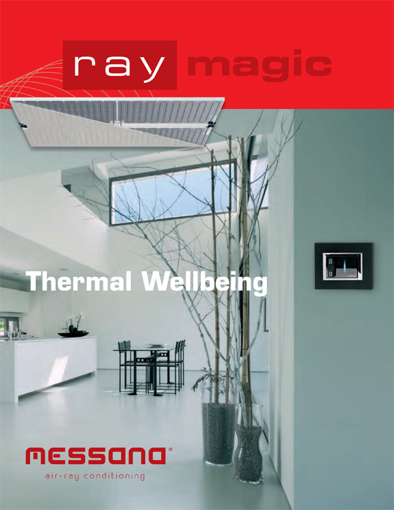 messana radiant ceiling heating and cooling system